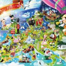D-1000-420 Mickey Mouse Fantastic Europe (Japan Tenyo Disney Jigsaw Puzzle)