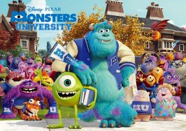 D-1000-430 Disney Pixar Monsters Inc Monsters University (Japan Tenyo Disney)