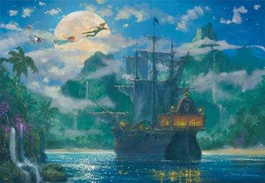 D-1000-416 Peter Pan Collection (Japan Tenyo Disney Jigsaw Puzzle)