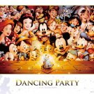 D-1000-434 Dancing Party of Mickey World (Japan Tenyo Disney Jigsaw Puzzle)