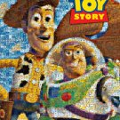D-1000-453 Pixar Toy Srory Woody Buzz Lightyear - photo mosaic (Tenyo Disney)