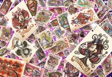 DS-1000-767 Disney All Star Trump World (Japan Tenyo Disney Jigsaw Puzzle)