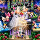 DS-1000-769 Minnie Mickey Mouse Church Wedding (Tenyo Disney Jigsaw Puzzle)