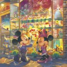 DW-1000-406 Wonderful Toy World Mickey Minnie (Japan Tenyo Disney Jigsaw Puzzle)