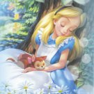 D-500-383 Alice in Wonderland Sleeping and Dreaming (Tenyo Disney Jigsaw Puzzle)