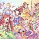 D-500-450 Disney Princess Fantastical Art Collection (Tenyo Disney)