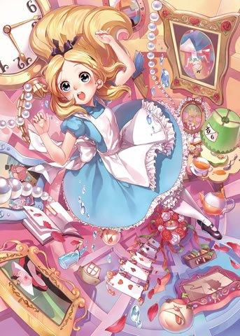 D-500-453 Disney Alice in Wonderland (Japan Tenyo Disney Jigsaw Puzzle)