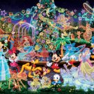 D-500-391 Disney All Characters Night Party (Japan Tenyo Disney Jigsaw Puzzle)