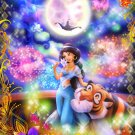 D-500-454 Disney Princess Jasmine Aladdin Riding the magic of love (Tenyo)