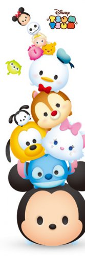 DG-456-721 Disney TSUM TSUM Babies (Japan Tenyo Disney Jigsaw Puzzle)