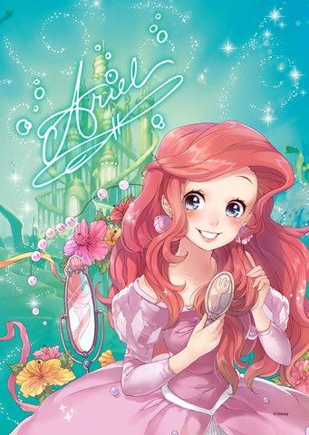 DSG-266B-783 Disney Princess Ariel the Little Mermaid (Japan Tenyo Disney)