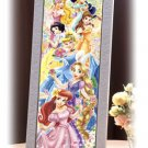 DSG-456-707 Disney Six Princess (Japan Tenyo Disney Jigsaw Puzzle)
