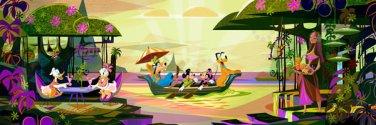 DSG-456-716 Disney Special Art Mark Swanson tightly - Magic Moment (Tenyo)
