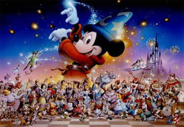 DSG-500-471 Disney Mickey Mouse Magic Party (Japan Tenyo Disney Jigsaw Puzzle)