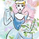 D-108-779 Disney Flower Princess Collection - Cinderella (Tenyo Disney Puzzle)