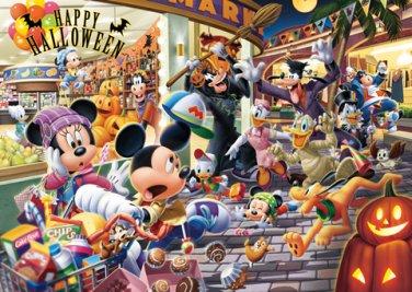 D-108-744 Disney Minnie Mickey Mouse Happy Halloween (Tenyo Disney Puzzle)