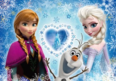 D-200-899 Disney Frozen The Snow Queen (Japan Tenyo Disney Jigsaw Puzzle)