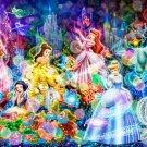 D-300-248 Disney Six Princess Cinderella Jasmine Snow White Aladdin (Tenyo)