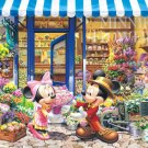 D-300-258 Disney Mickey Mouse and Minnie Flowers Shop (Tenyo Jigsaw Puzzle)
