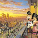D-300-197 Disney Mickey Mouse and Minnie Mouse (Tenyo Disney Jigsaw Puzzle)