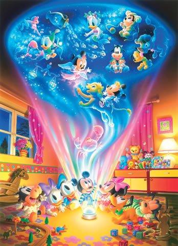 D-300-251 Disney Babies Magic Dream (Japan Tenyo Disney Jigsaw Puzzle)