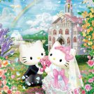 B-31-369 Hello Kitty and Daniel Church Wedding (Beverly Sanrio Jigsaw Puzzle)