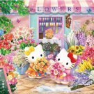 B-31-377 Hello Kitty Sweet Flowers Shop (Japan Beverly Sanrio Jigsaw Puzzle)