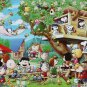 AP-48-747 Peanuts Snoopy and Woodstock - Tree House (Apollo-sha Jigsaw Puzzle)