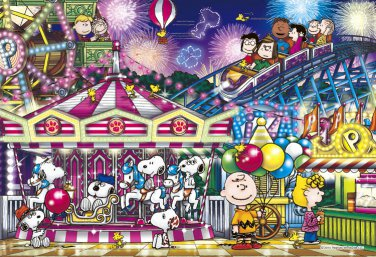 AP-48-748 Peanuts Snoopy and Woodstock - Happy Party (Apollo-sha Jigsaw Puzzle)