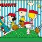 AP-10-844 Peanuts Snoopy and Woodstock - Baseball (Apollo-sha Jigsaw Puzzle)