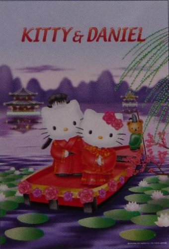 AB-300-53 Hello Kitty and Daniel (Japan Artbox Jigsaw Puzzle)
