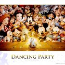 D-300-284 Disney Dancing Party Mickey Minnie (Japan Tenyo Disney Jigsaw Puzzle)