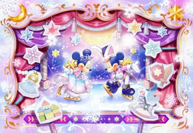 DPG-500-591 Toy Country's Ice Show Minnie Mickey (Tenyo Disney Jigsaw Puzzle)