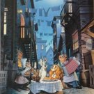 D-1000-157 Disney Lady and the Tramp (Japan Tenyo Disney Jigsaw Puzzle)
