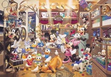 D-1000-228 Disney Shop Mickey Minnie Goofy (Japan Tenyo Disney Jigsaw Puzzle)