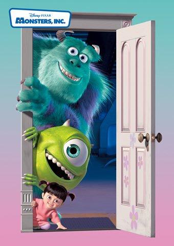 D-108-701 Disney Pixar Monsters Inc (Japan Tenyo Disney Jigsaw Puzzle)