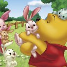 D-108-708 Disney Winnie the Pooh and Piglet (Japan Tenyo Disney Jigsaw Puzzle)