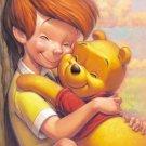D-108-717 Disney Winnie the Pooh (Japan Tenyo Disney Jigsaw Puzzle)