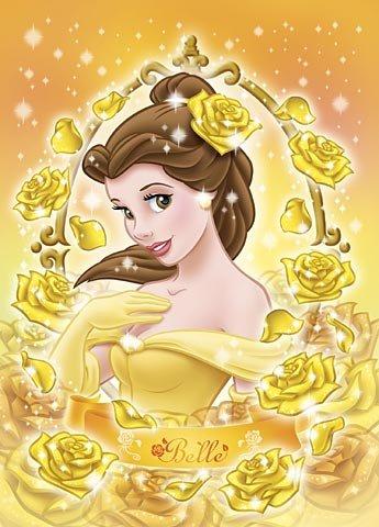 D-108-911 Disney Princess Belle Beauty of the Beast (Tenyo Disney Jigsaw Puzzle)