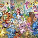 D-2000-528 Disney Lilo and Stitch Collection (Japan Tenyo Disney Jigsaw Puzzle)