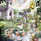 D-2000-532 Minnie Mickey Mouse Church Wedding (Japan Tenyo Disney Jigsaw Puzzle)