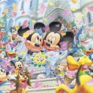 D-2000-536 Minnie Mickey Mouse Church Wedding (Japan Tenyo Disney Jigsaw Puzzle)