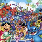 D-2000-546 Disney Lilo and Stitch Collection (Japan Tenyo Disney Jigsaw Puzzle)