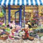 D-2000-547 Mickey and Minnie Flowers Shop (Japan Tenyo Disney Jigsaw Puzzle)