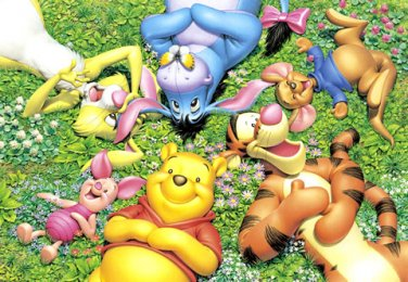 D-300-240 Winnie the Pooh Piglet Eeyore Tiger (Japan Tenyo Disney Jigsaw Puzzle)