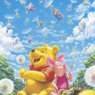 D-500-414 Dandelion and Winnie the Pooh Piglet (Japan Tenyo Disney Jigsaw Puzzle