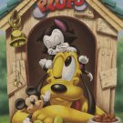 D-500-385 Disney Pluto and Mickey Mouse (Japan Tenyo Disney Jigsaw Puzzle)