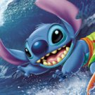 D-950-577 Disney Lilo and Stitch Surfing (Japan Tenyo Disney Jigsaw Puzzle)