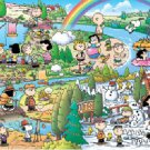 AP-10-169 Peanuts Snoopy and Woodstock (Japan Apollo-sha Jigsaw Puzzle