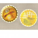 OBOLON BEER CROSSWORD UKRAINIAN ADVERTISING BEER MAT COASTER
